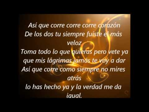 Jesse & Joy- Corre (Lyrics)