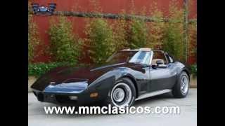 mm clasicos chevrolet corvette c3 stingray muscle car 1977