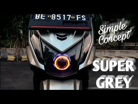 Modifikasi Honda Beat Fi Thailook simple concept