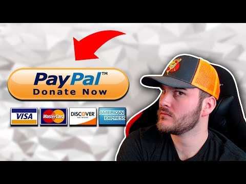 You Need To Know How To Setup PayPal Donations ⚙💸 🤑