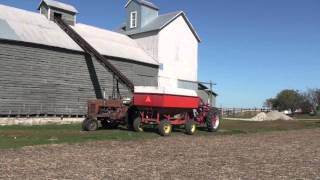 Farmall 400 And Corn Crib