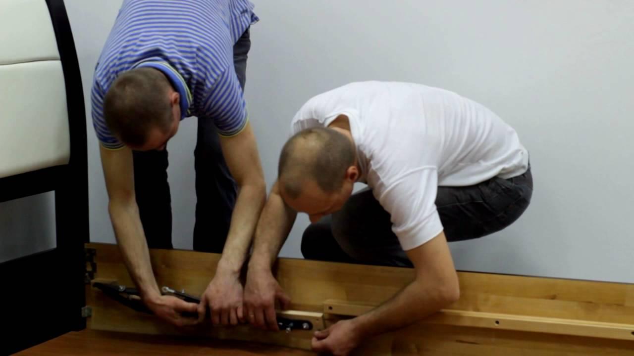 Instrukcja Montażu łóżka Drewnianego