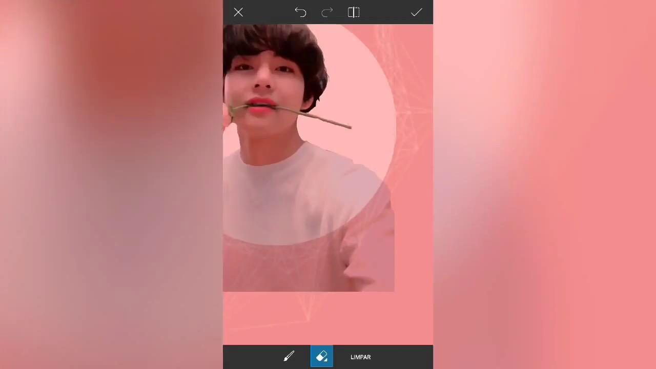 Pastel Lockscreen Edit Picsart Kpop Wallpaper