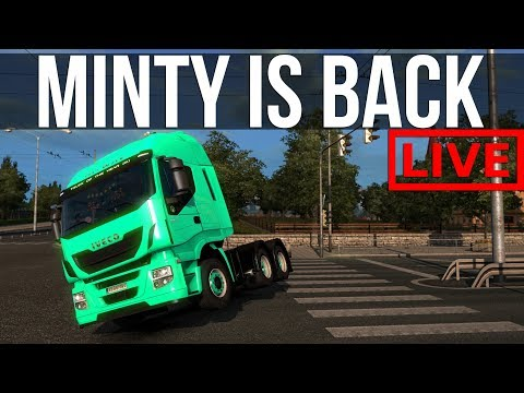 Euro Truck Simulator 2 - Safely Delivering Cargo Without Incident ( ͡° ͜ʖ ͡°)