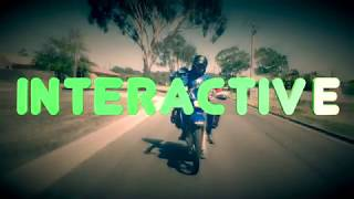Interactive Motorcycle Adventure Video