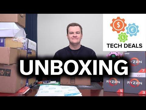 Tech Deals - Opening Stuff! - February 2018