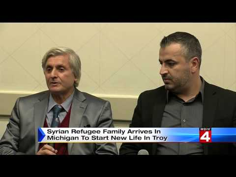 Syrian Refugees Start New Life in Troy Michigan