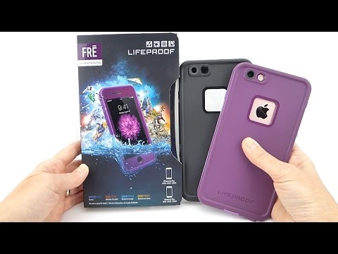 Loving the LifeProof FRE: An Excellent Waterproof Case for the iPhone 6s Plus!