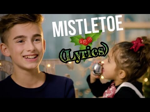 Justin Bieber- Mistletoe (Lyrics) (Johnny Orlando cover) (2016)