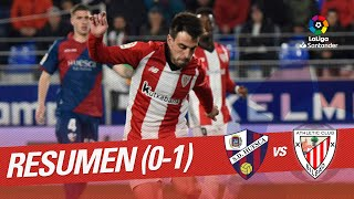 Resumen de SD Huesca vs Athletic Club (0-1)
