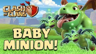 Clash of Clans - Baby Dragon Minion Attack Strategy | CoC Builder Hall 6 Battles!