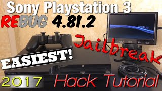 Sony PlayStation 3 ( PS3 ) [ EASIEST! Jailbreak / Hack Tutorial ] - Rebug 4.81.2 | MultiMan - MrMaD