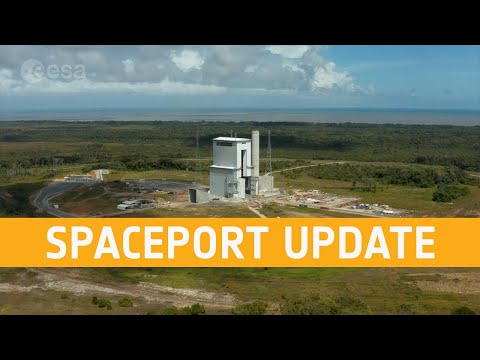 Ariane 6 launch complex  December 2020
