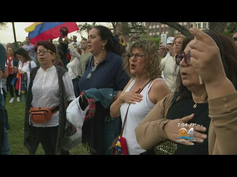 Historic Day In Venezuela Coincides With Protests Across The Globe Against Nicolas Maduro