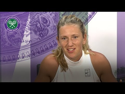 Victoria Azarenka Wimbledon 2017 third round press conference