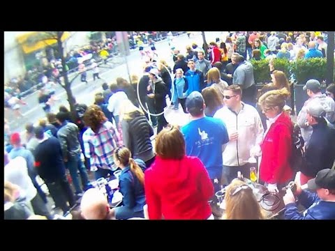 New footage of Boston bombing blast shown in court