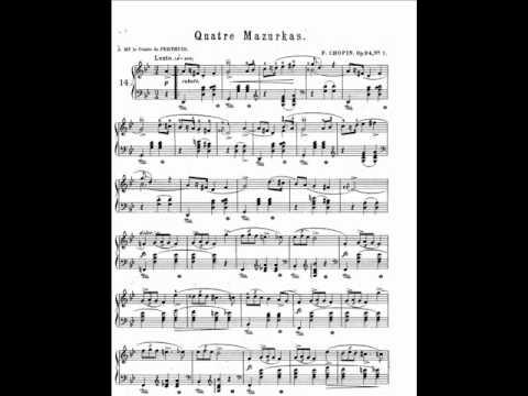 Ashkenazy plays Chopin Mazurka No 14 in G minor, Op 24 No 1