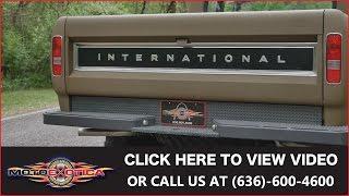 1972 International-Harvester 1210 Travelette Crew Cab 4x4 || SOLD