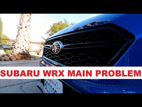 The Main Problem With The New Subaru WRX 2015 2016 2017 2018 2019