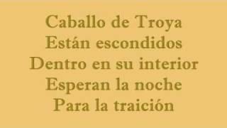 Caballo de Troya-Tierra Santa (con lyrics-letra)
