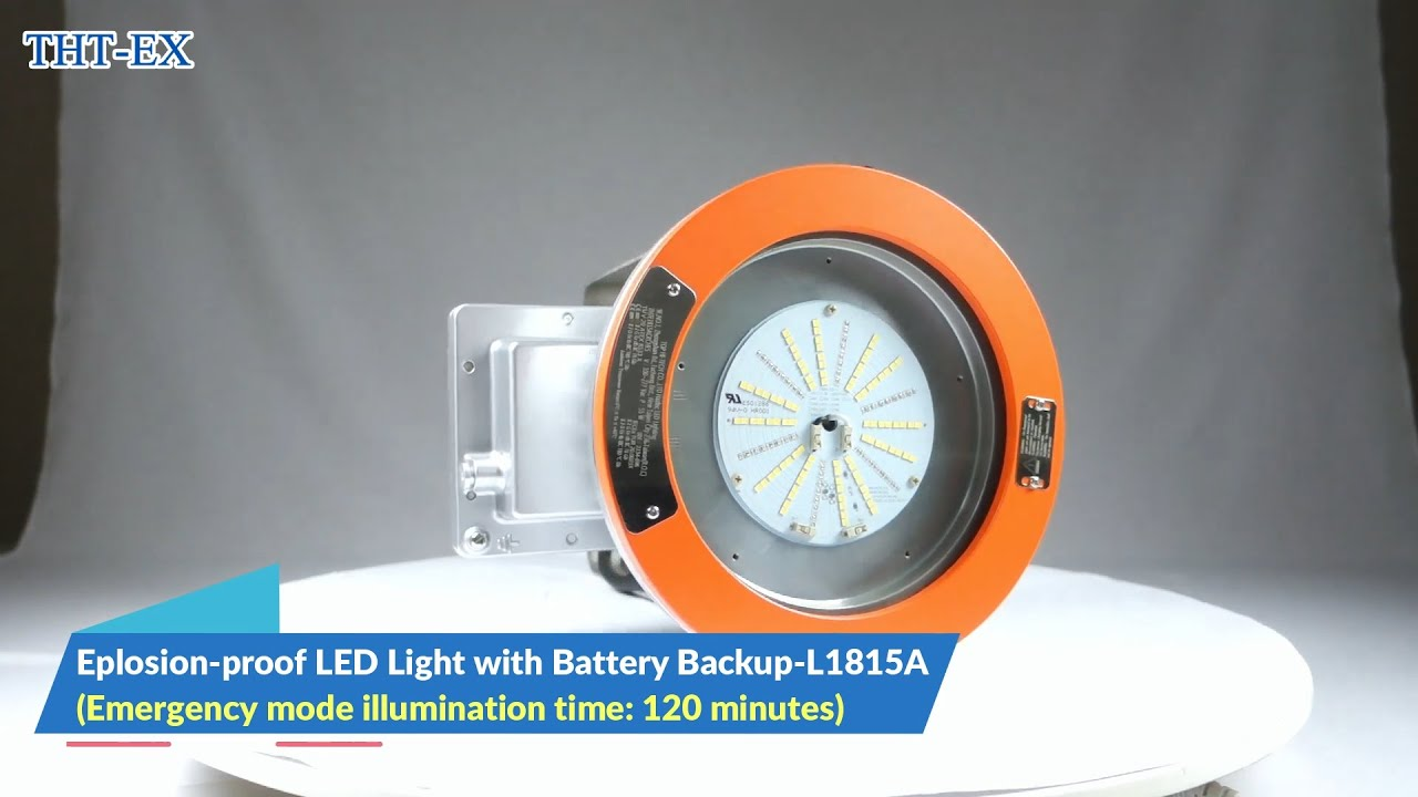 Explosion-proof LED Light with Battery Backup (Emergency Mode)_L1815A