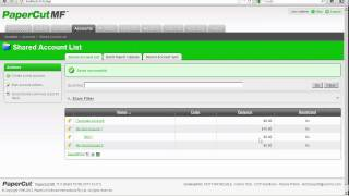 CCP Solutions Present: Papercut MF Client Billing - User, Account & Billing Demo