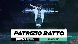 Patrizio Ratto | FrontRow | World of Dance Rome 2018 | #WODIT18