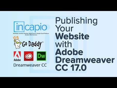 How to Set Up Dreamweaver With GoDaddy via SFTP to upload a website | 2017