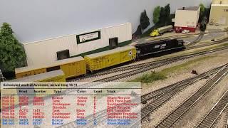 Train NS 101 - BSMRR
