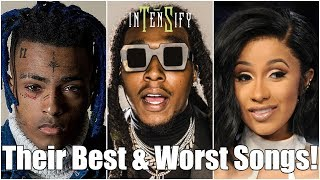 EVERY Mainstream Rapper's Best & Worst Songs