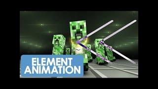 Reverse - Element Animation & Dan Bull - Creeper Rap (Ending B)