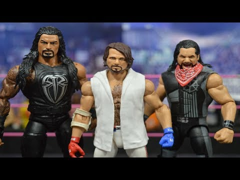 WWE ELITE FIGURE HAUL! NETWORK AJ! TNF SETH ROLLINS + MORE!