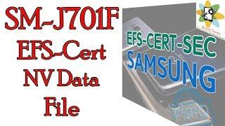 SM J701F EFS Cert NV Data FILE Z3X & Chimera by Skynet Team