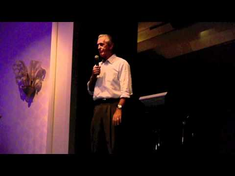 "Pat Riley performs ""My Girl"" at Shane Battier's ""South Beach Battioke"" Karaoke charity event"