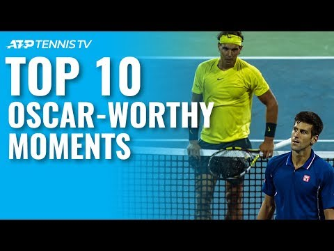 Top 10 OscarWorthy ATP Tennis Moments!
