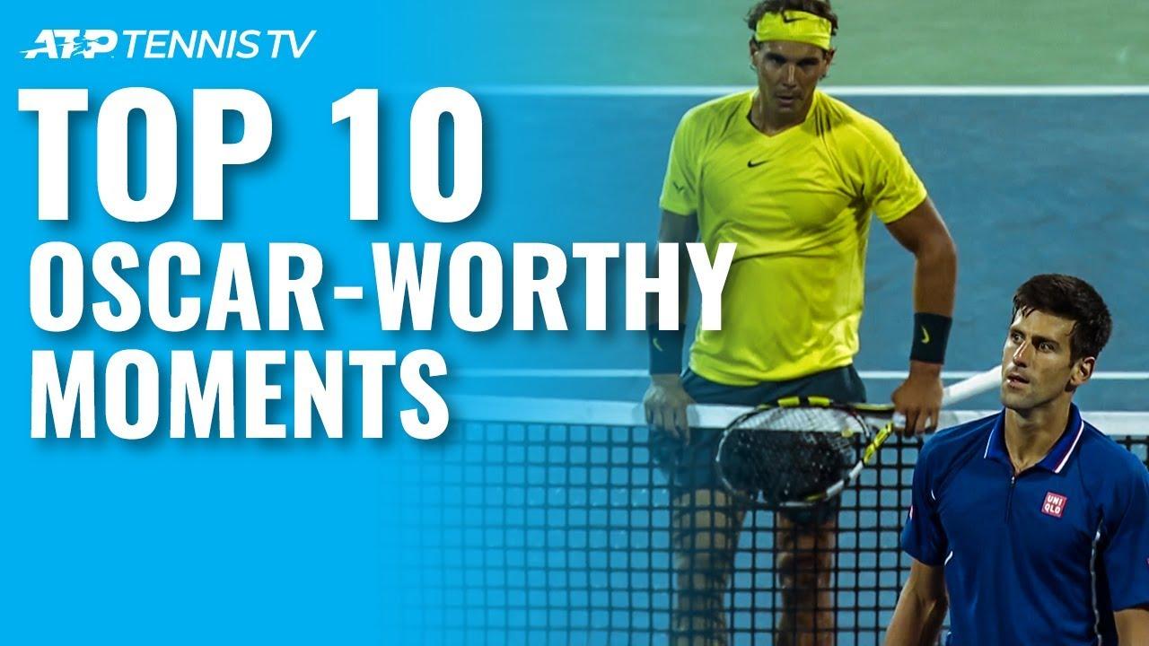 Top 10 Oscar-Worthy ATP Tennis Moments!