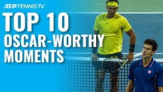 Top 10 Oscar-Worthy ATP Tennis Moments!