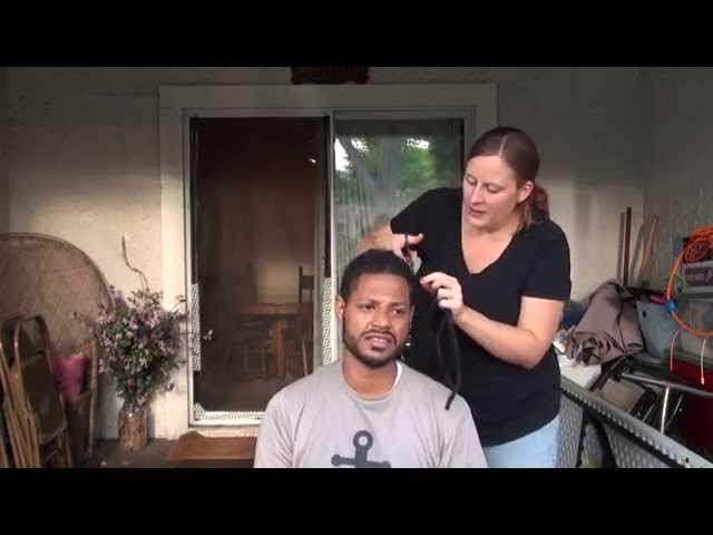 How to Cut off your Dredlocks [2014]