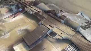 Покраска снайперской винтовки