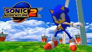 Sonic Adventure 2: Heroes Sonic in Seaside Hill [no HUD]
