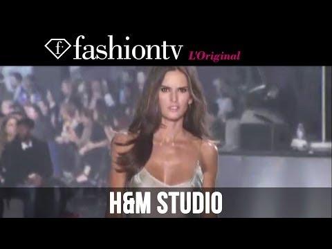 Izabel Goulart, Joan Smalls at H&M Fall/Winter 2014-15 | Paris Fashion Week PFW | FashionTV