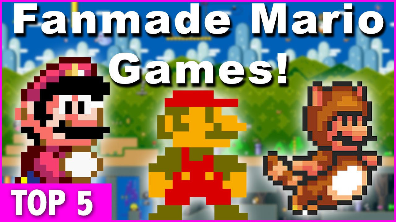 Top 5 Super Mario Fan Made Games ft  BadmanReviews