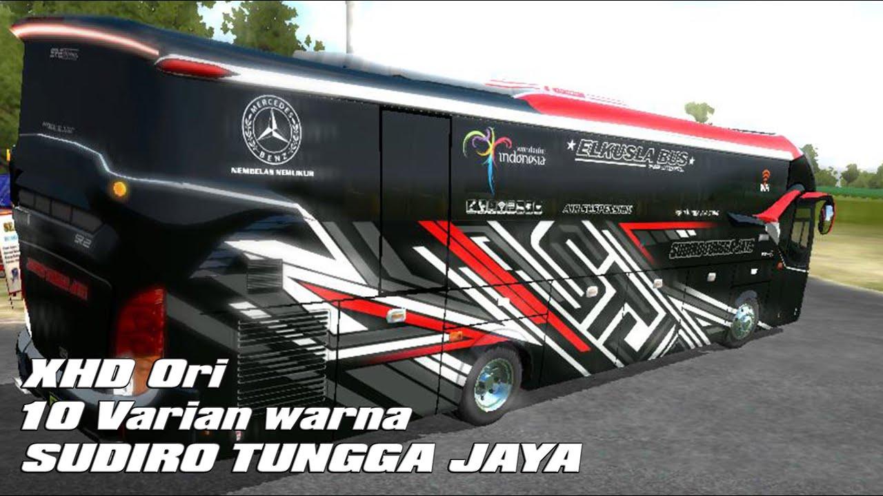 Livery Bussid Sudiro Tungga Jaya Xhd Arjuna
