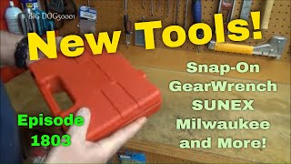 Tool Binging Again! Snap-On, GearWrench, Milwaukee, Sunex and More