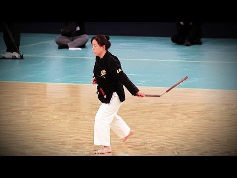 Karate Kingai-ryū (Okinawa kobujutsu) - 39th Kobudo Demonstration Nippon Budokan 2016
