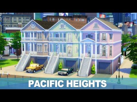 심즈4 건축 - 퍼시픽 하이츠 | The Sims 4 Speed Build - Pacific Heights