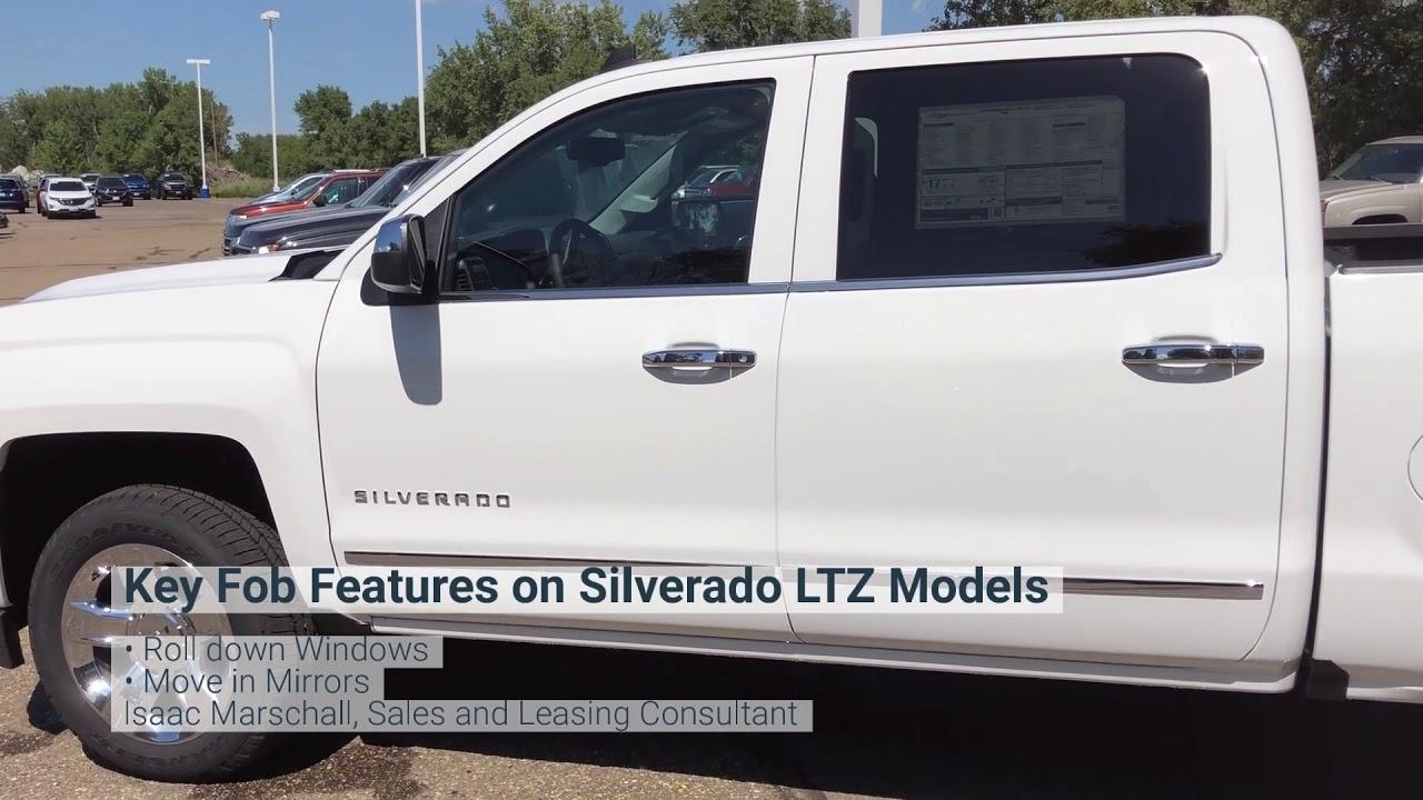 Chevrolet Silverado Ltz Key Fob Features Youtube