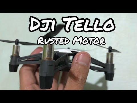 How to Fix Rusted Brushed Motors RYZE DJI Tello