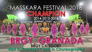 Brgy. GRANADA - CHAMPION - 37th BACOLOD MASSKARA FESTIVAL 2016 (Brgy Category) thumbnail