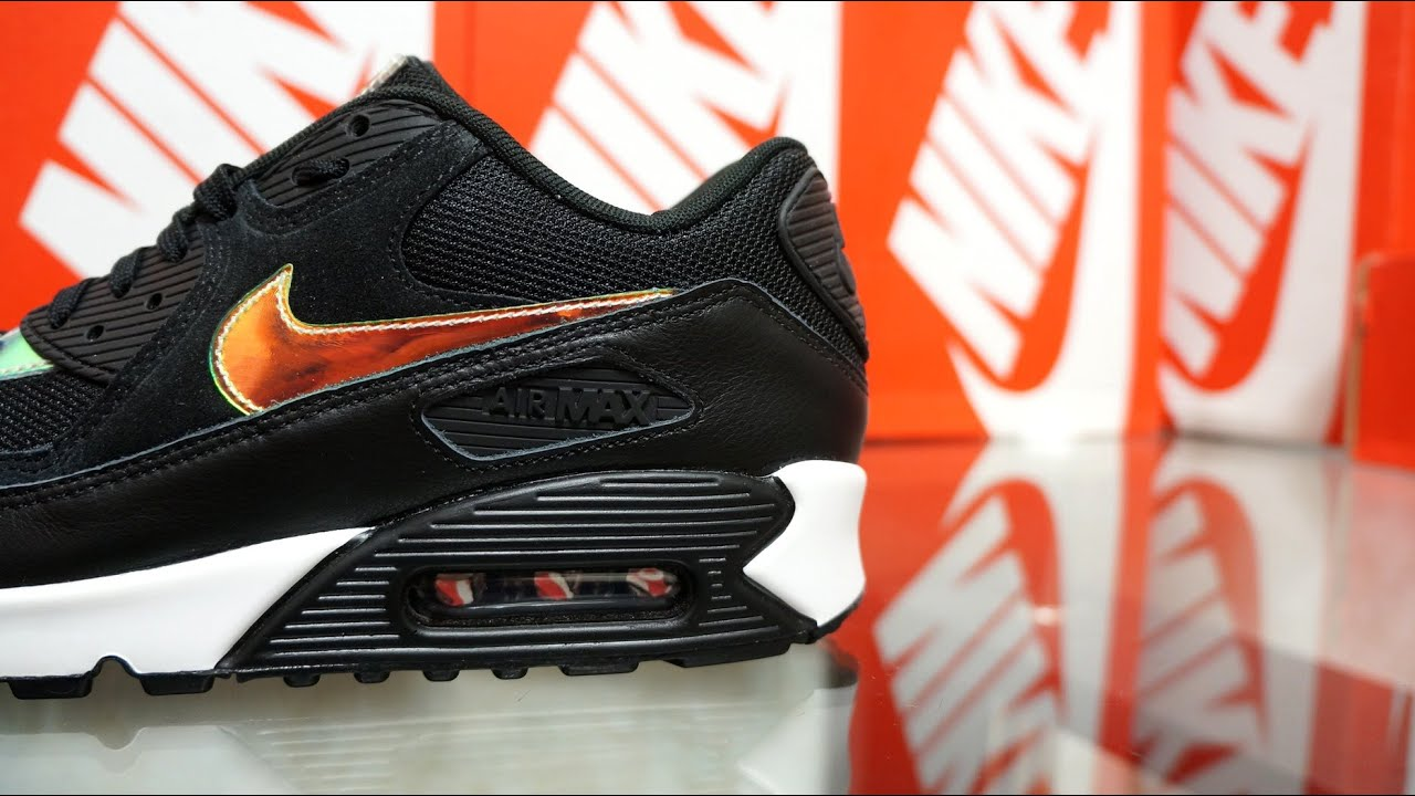 finest selection d09d7 b8256 Nike Air Max 90 Premium Black Ivory